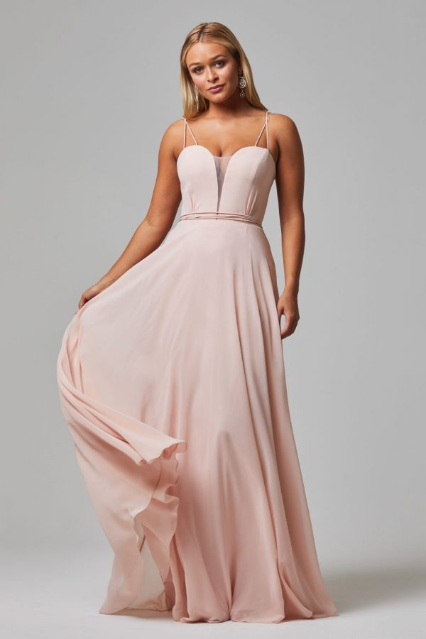 Freda Bridesmaid Dress PINK front hero