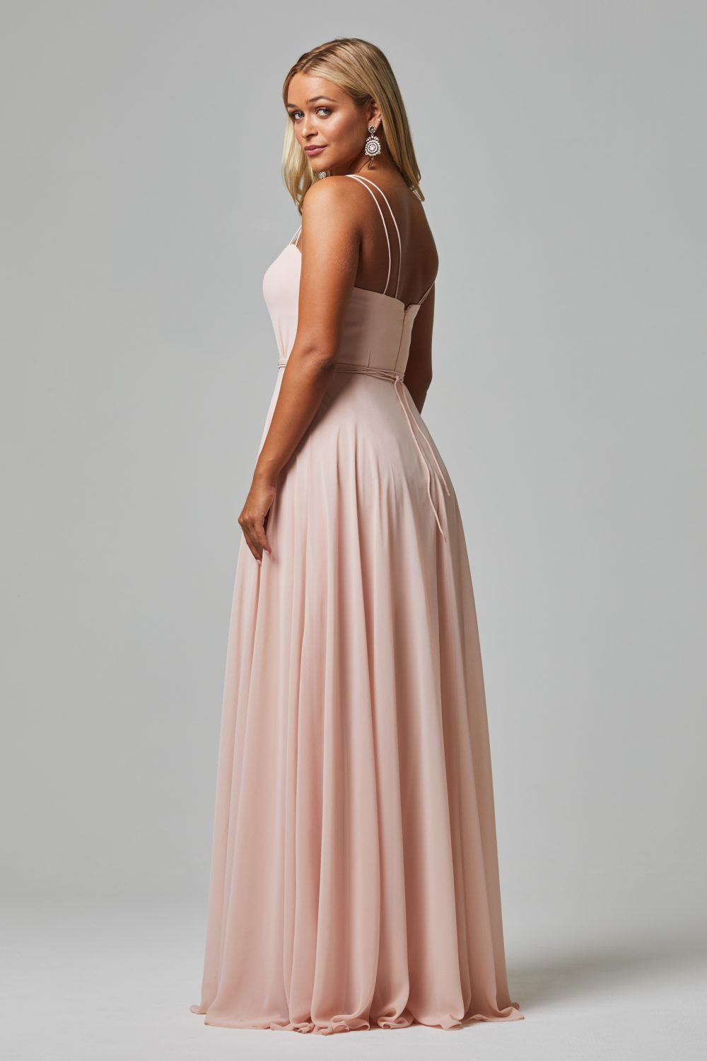Freda Bridesmaid Dress PINK side