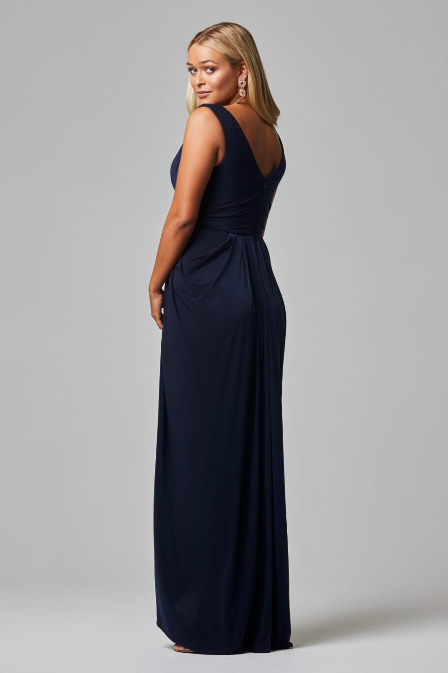 Kalani Bridesmaid Dress - NAVY BACK