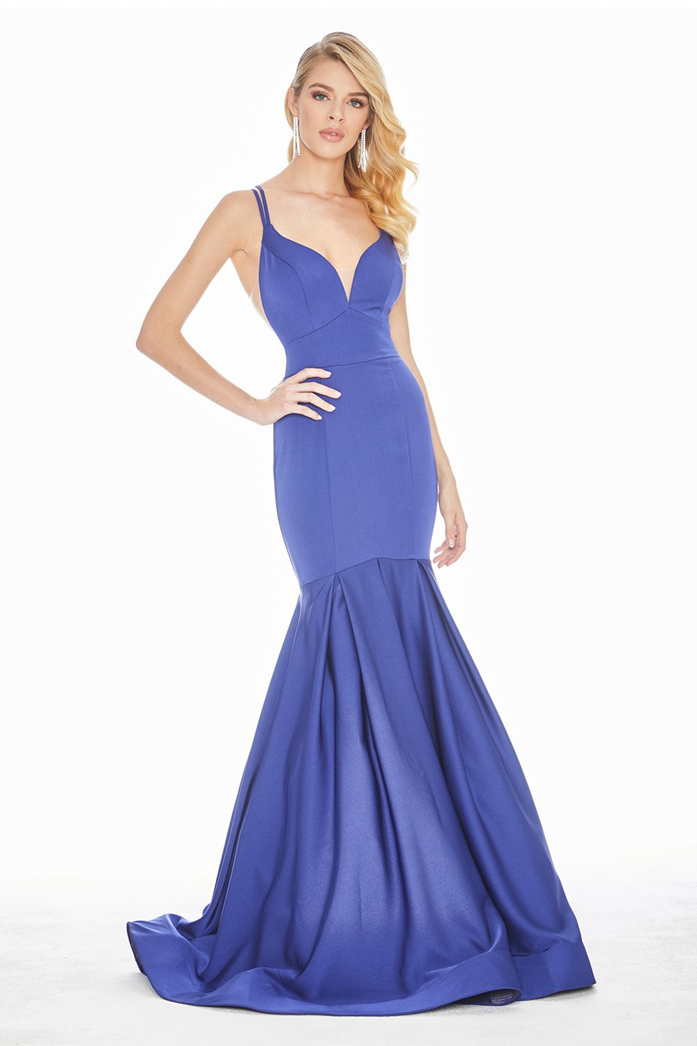 Ashley Lauren 1532 Mermaid Formal Dress front