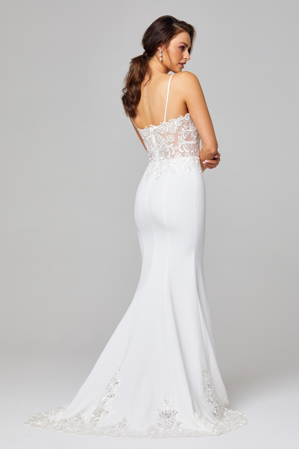 TC318- Vintage white/nude Back