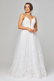 Belle Embroidered Tulle Wedding Dress - TC309