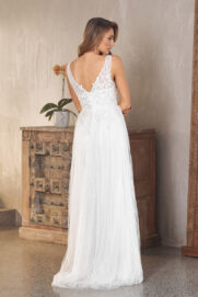Blaire Lace and Tulle Wedding Dress - TC282
