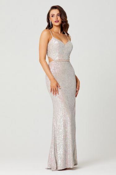 Jasmine Sequin Formal Dress -PO853-Side