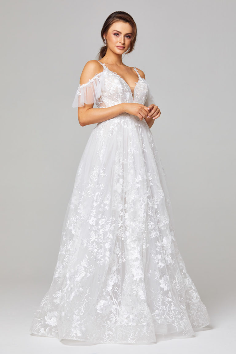 TC295 Jaya Wedding Dress Side