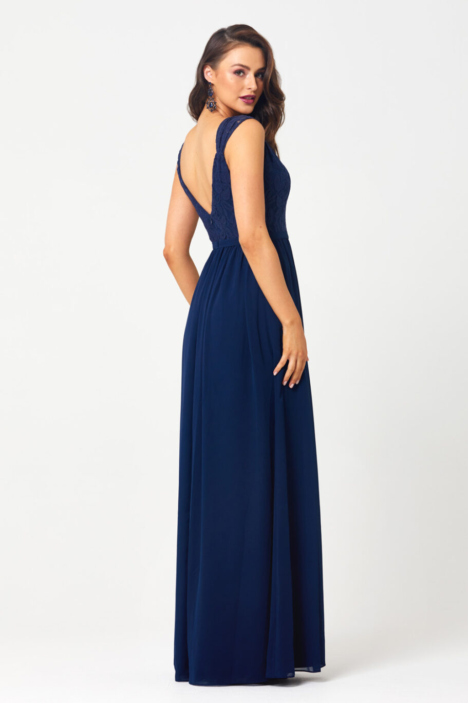 TO827 veronica navy Back