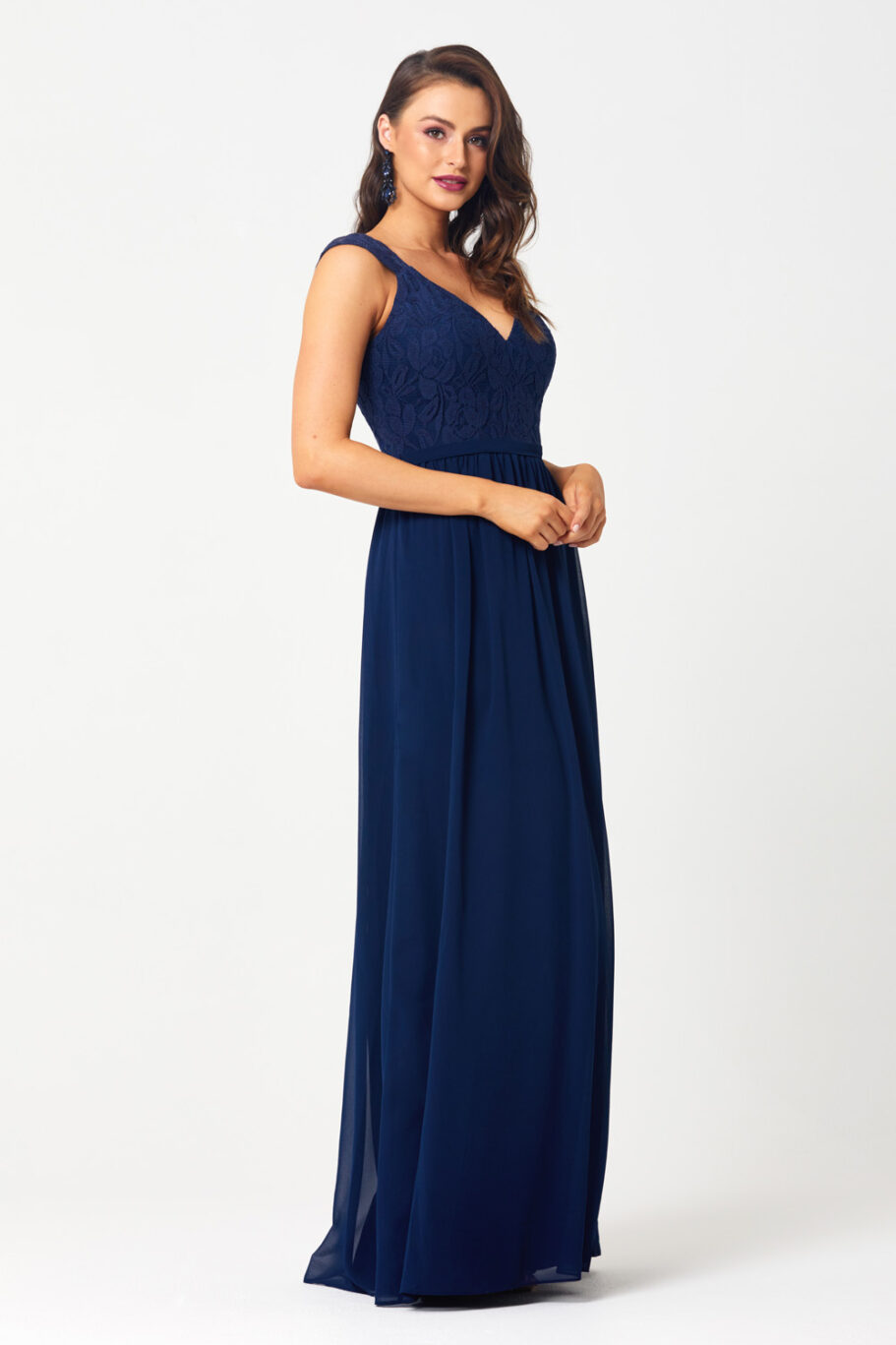 TO827 veronica navy Side