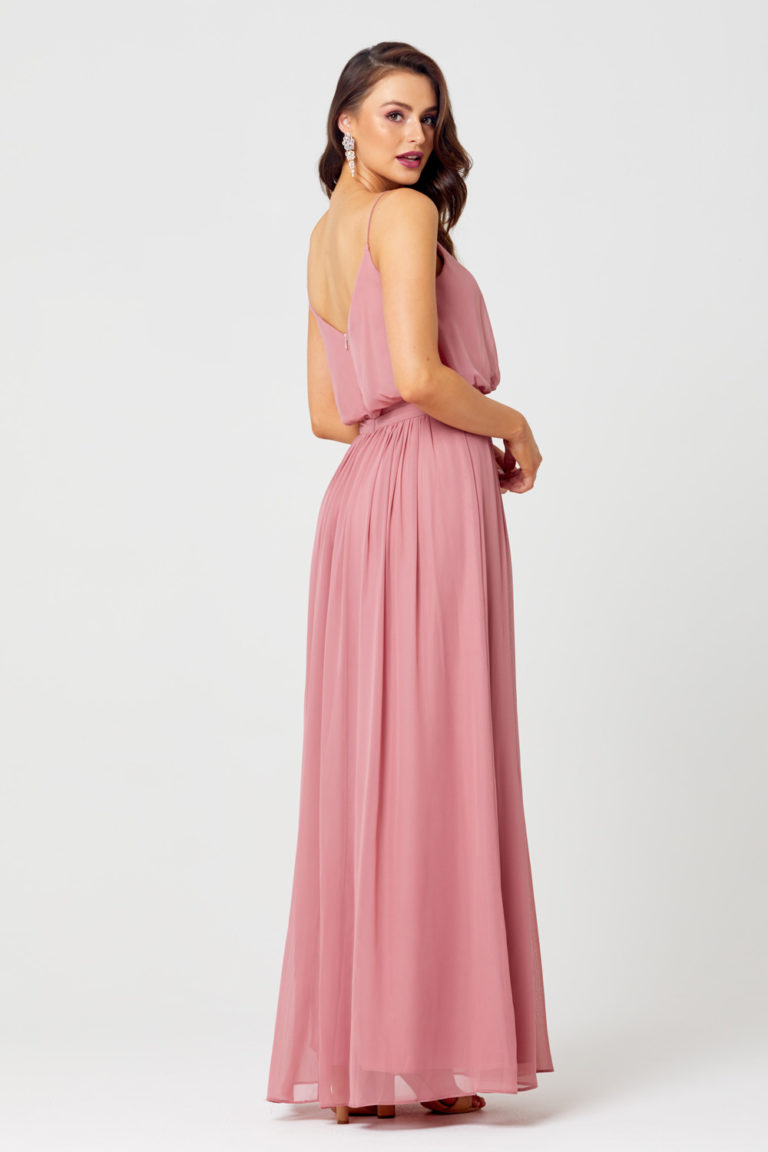 TO834 Back pink bridesmaid