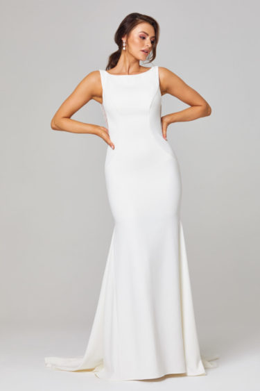 JEMMA HIGH NECK WEDDING DRESS -TC301