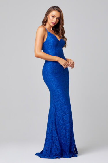 PO816-INDIA LACE COBALT-SIDE