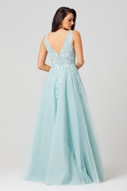 Cindy Sweetheart Formal Gown - TC274-Back