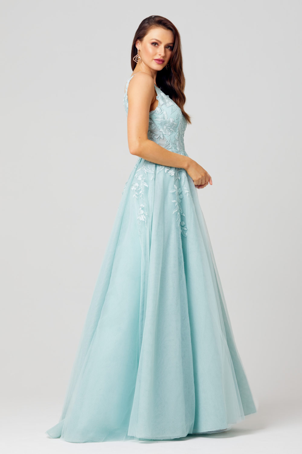 Cindy Sweetheart Formal Gown - TC274-Side