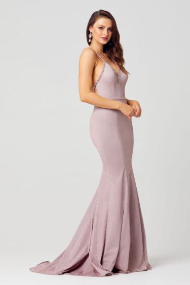 Harliegh Beaded Formal Dress - PO598-Side