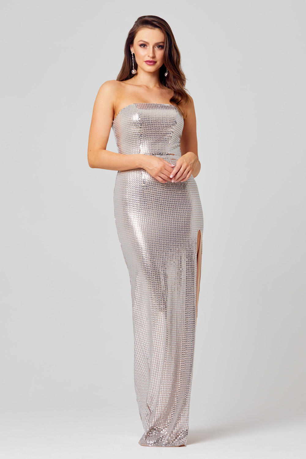 Lexi Strapless Sequin Formal Dress - PO823