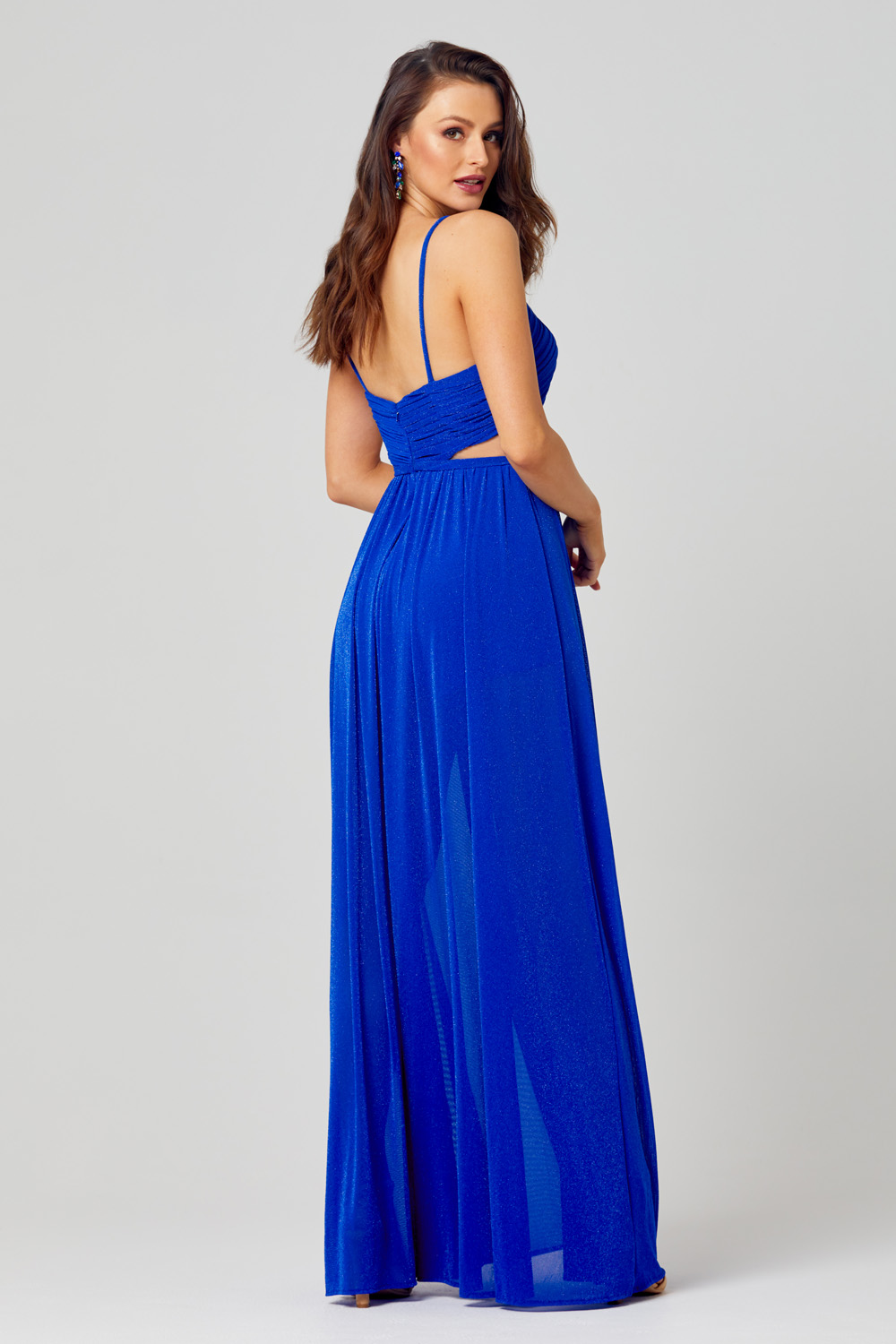 Lulu High Leg Formal Dress - PO845 back