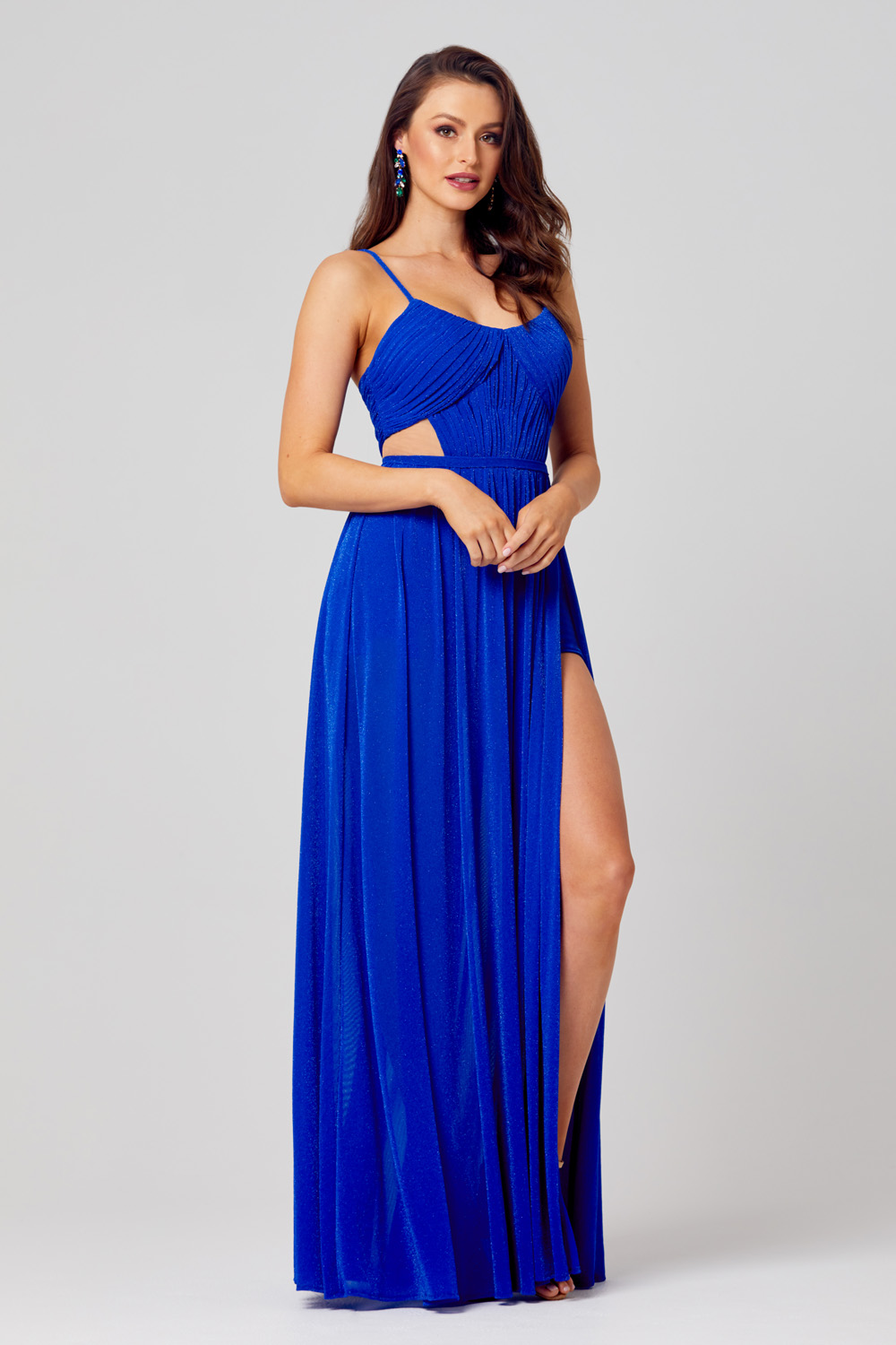 Lulu High Leg Formal Dress - PO845 side