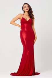 Macie Fitted Slinky Formal D