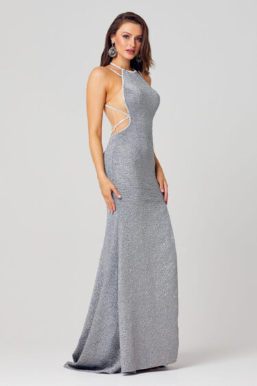 Noemi Fitted Formal Dress - PO868-Side