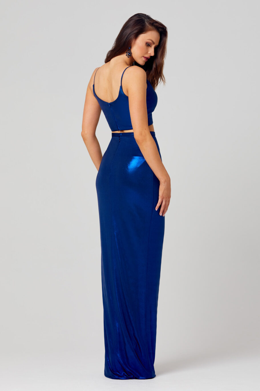 Sierra Fitted Two Piece Formal Dress - PO827 back
