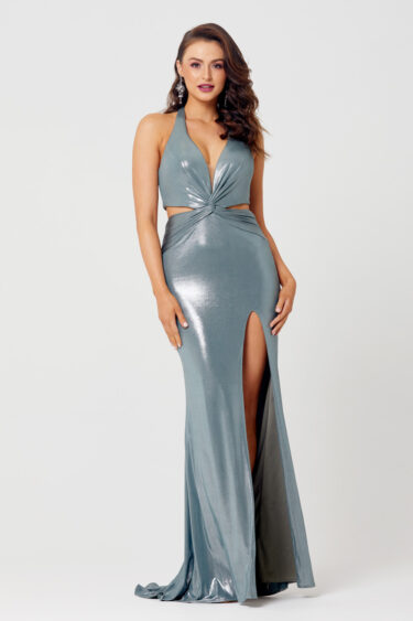 Stevie Slinky Knotted Formal Dress - PO882