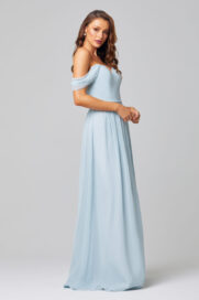 TO849-NATALIE BRIDESMAID DRES -DUCK EGG-SIDE