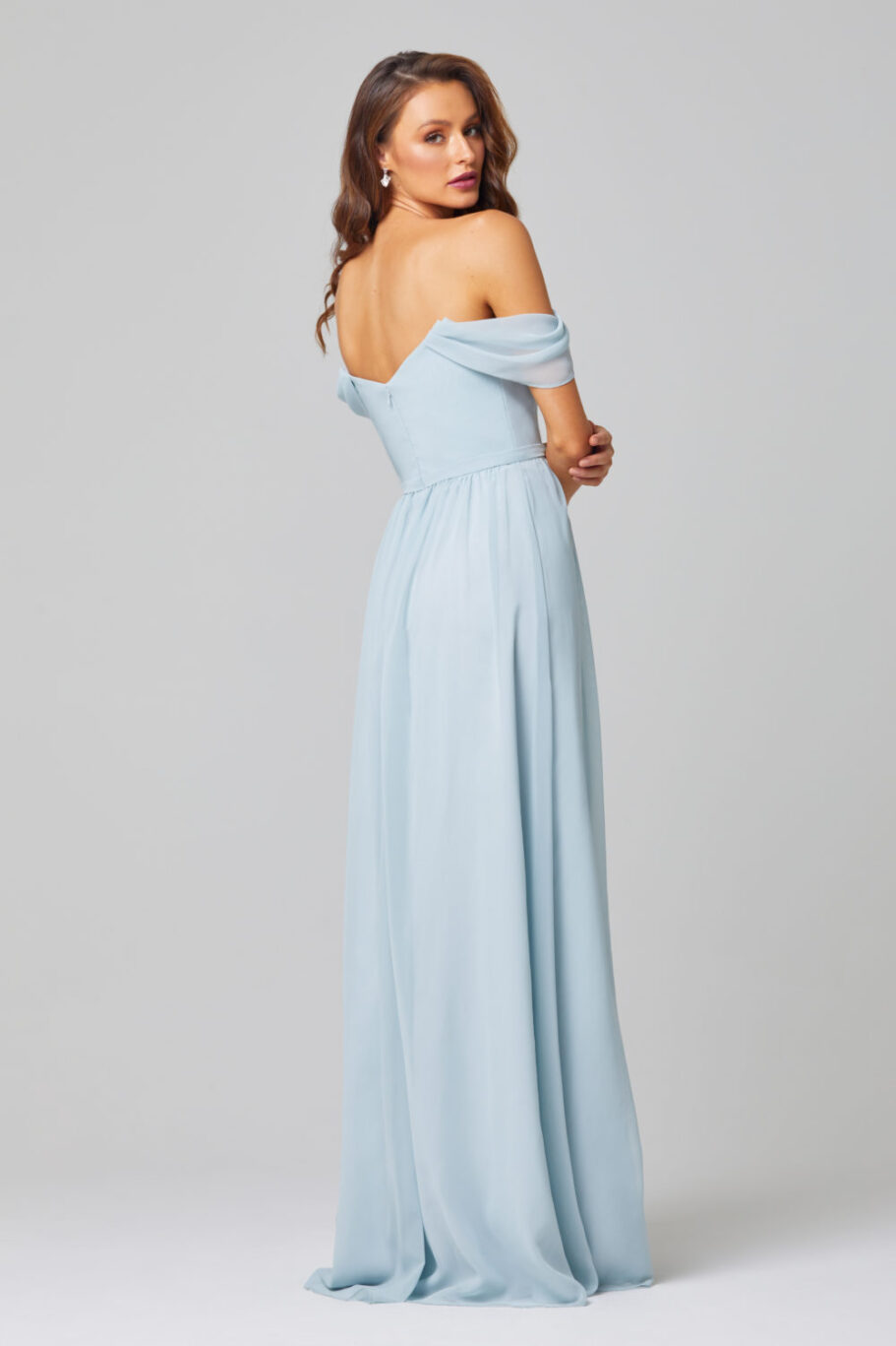 TO849-NATALIE BRIDESMAID DRESS-DUCK EGG-BACK