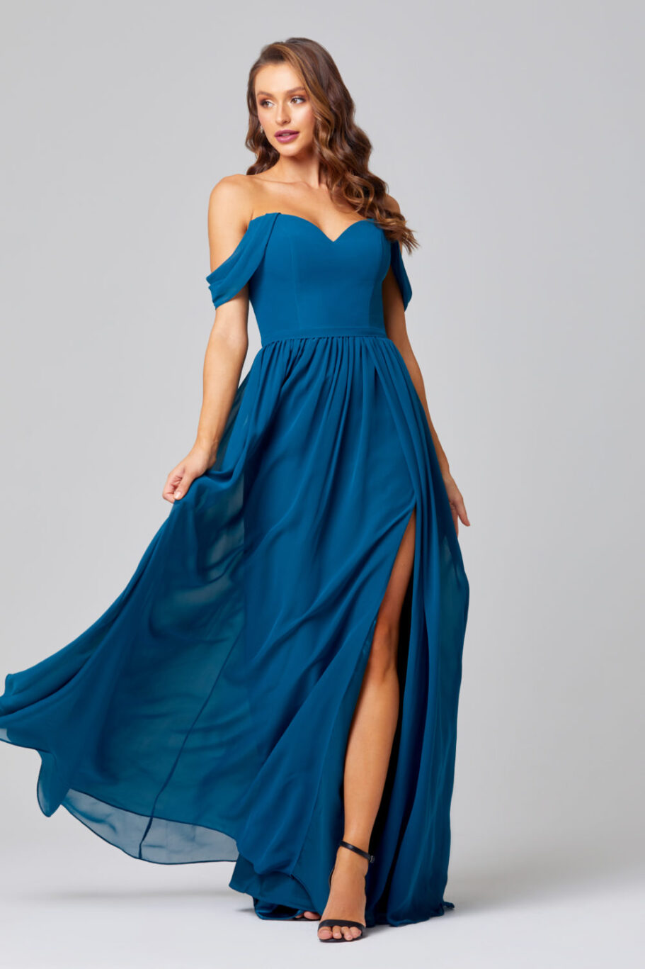 TO849-NATALIE BRIDESMAID DRESS-TEAL (1)