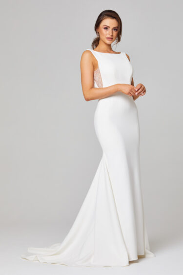 Jemma Open Back Wedding Dress - TC301 side