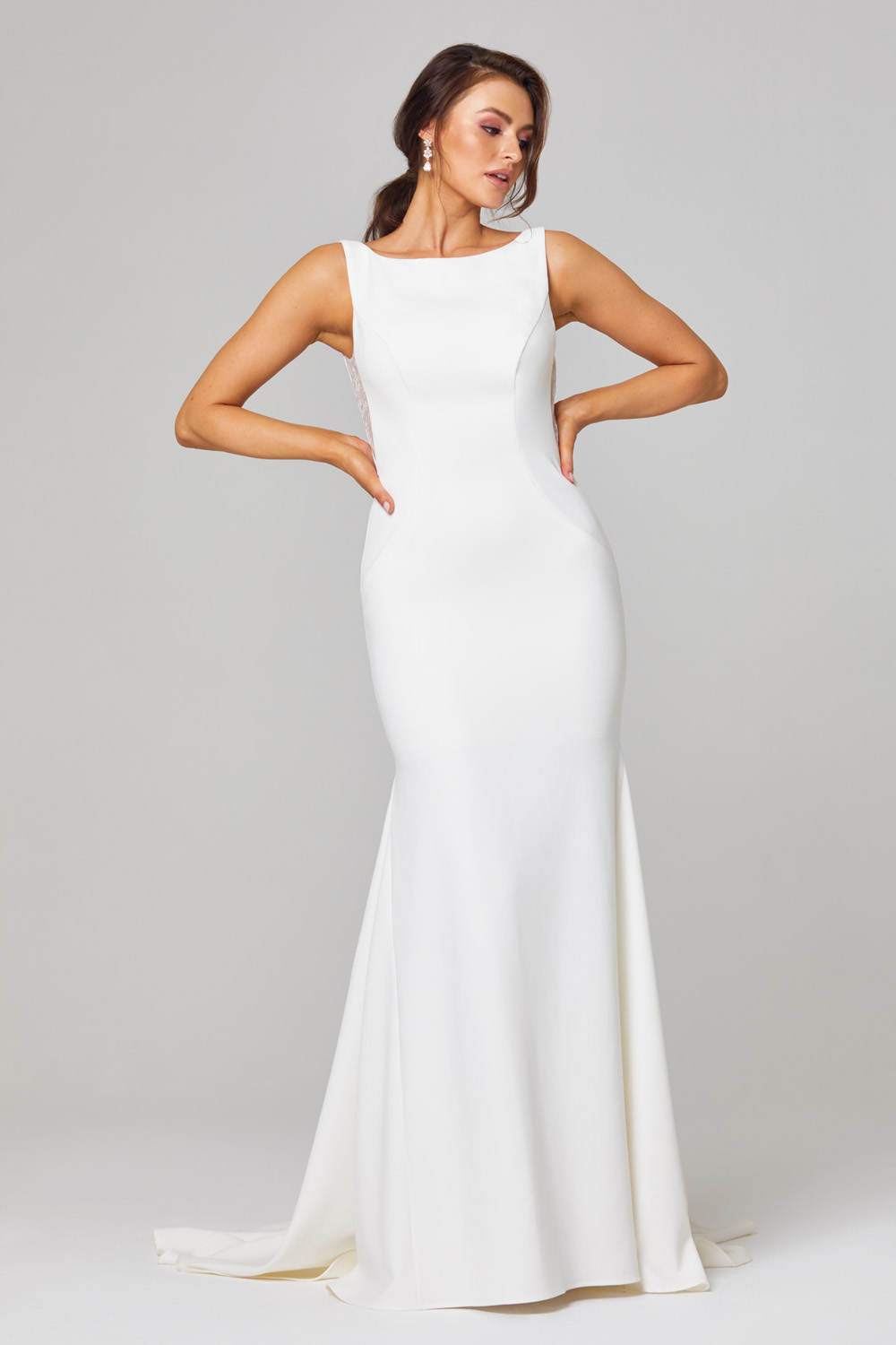 Jemma Open Back Wedding Dress - TC301