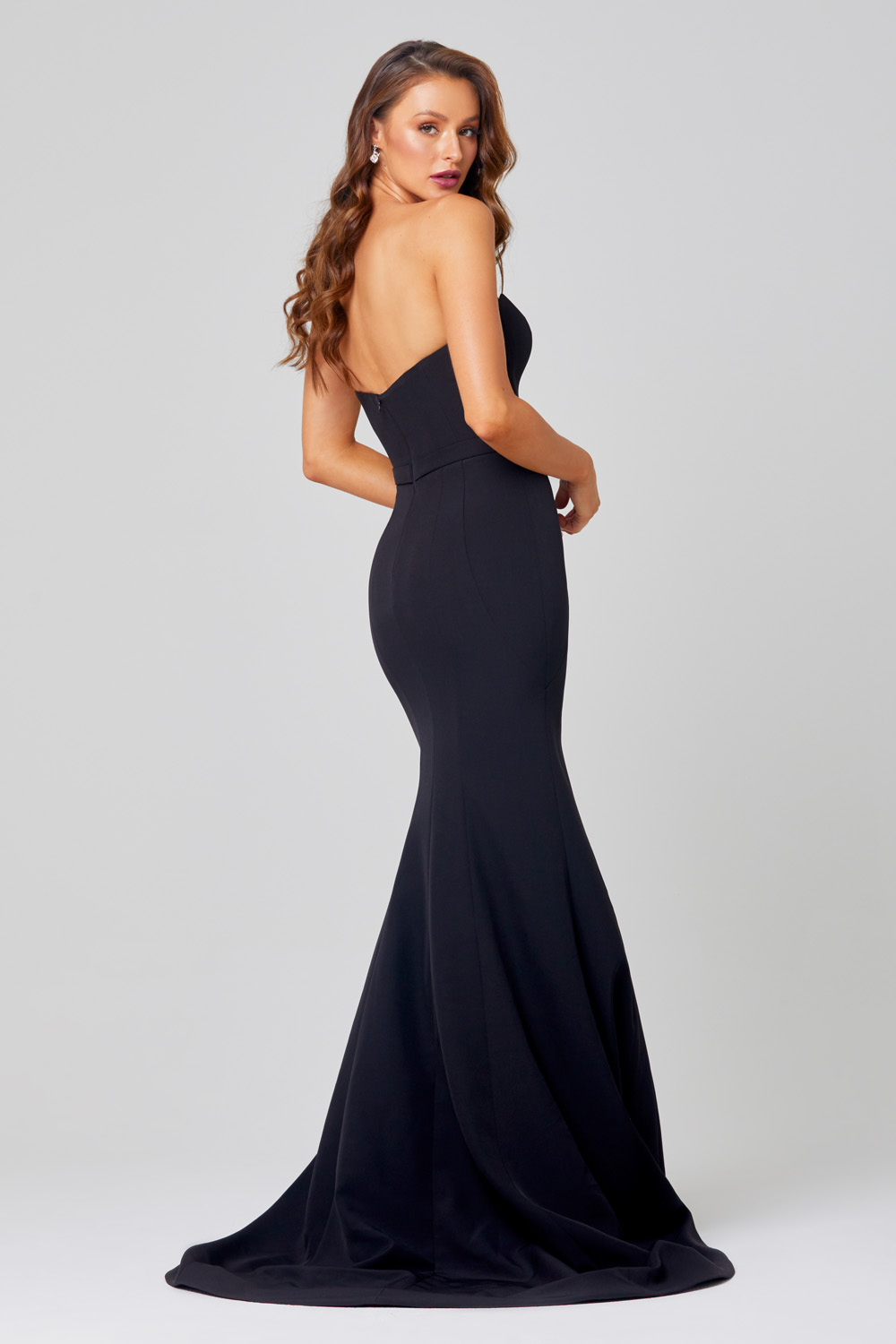 Lacie Strapless Mermaid Evening Dress - PO886 Back