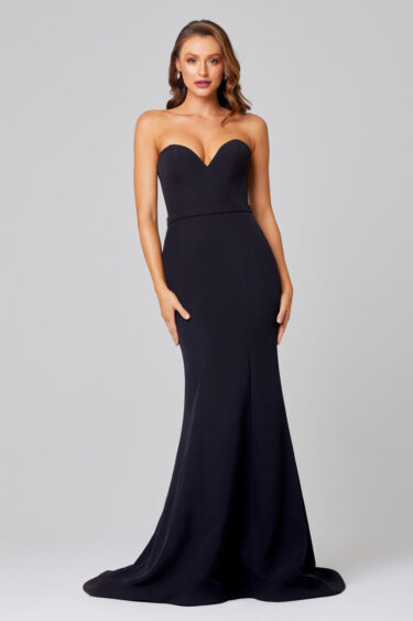 Lacie Strapless Mermaid Evening Dress - PO886 Front