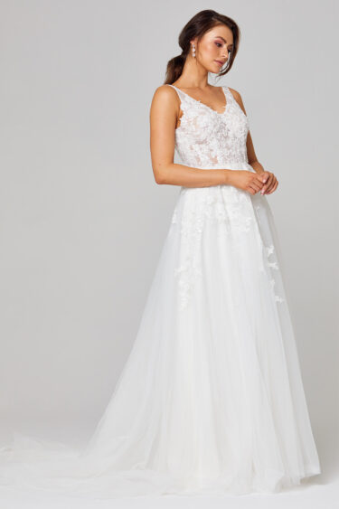 Rosie A-Line Lace Wedding Dress - TC292 2