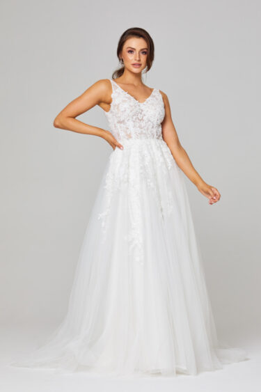 Rosie A-Line Lace Wedding Dress - TC292