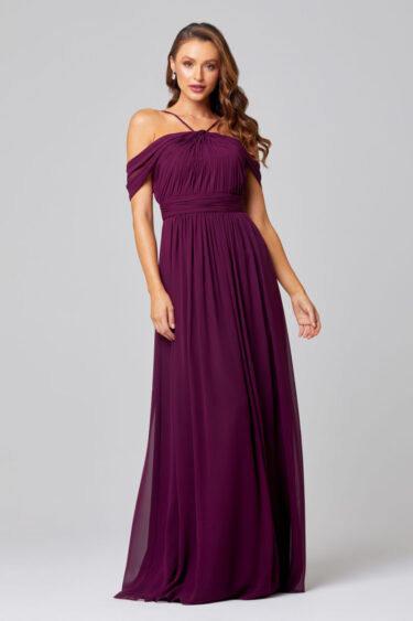 Spring Off-shoulder Bridesmaid Dress - TO837