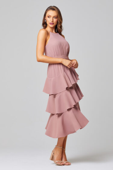 Ariel Tiered Ruffle Bridesmaid Dress - TO851