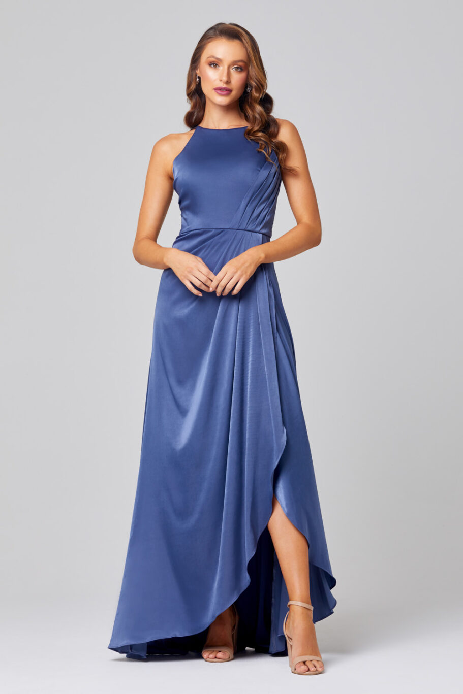 Chelsea High Neck Bridesmaid Dress - TO854