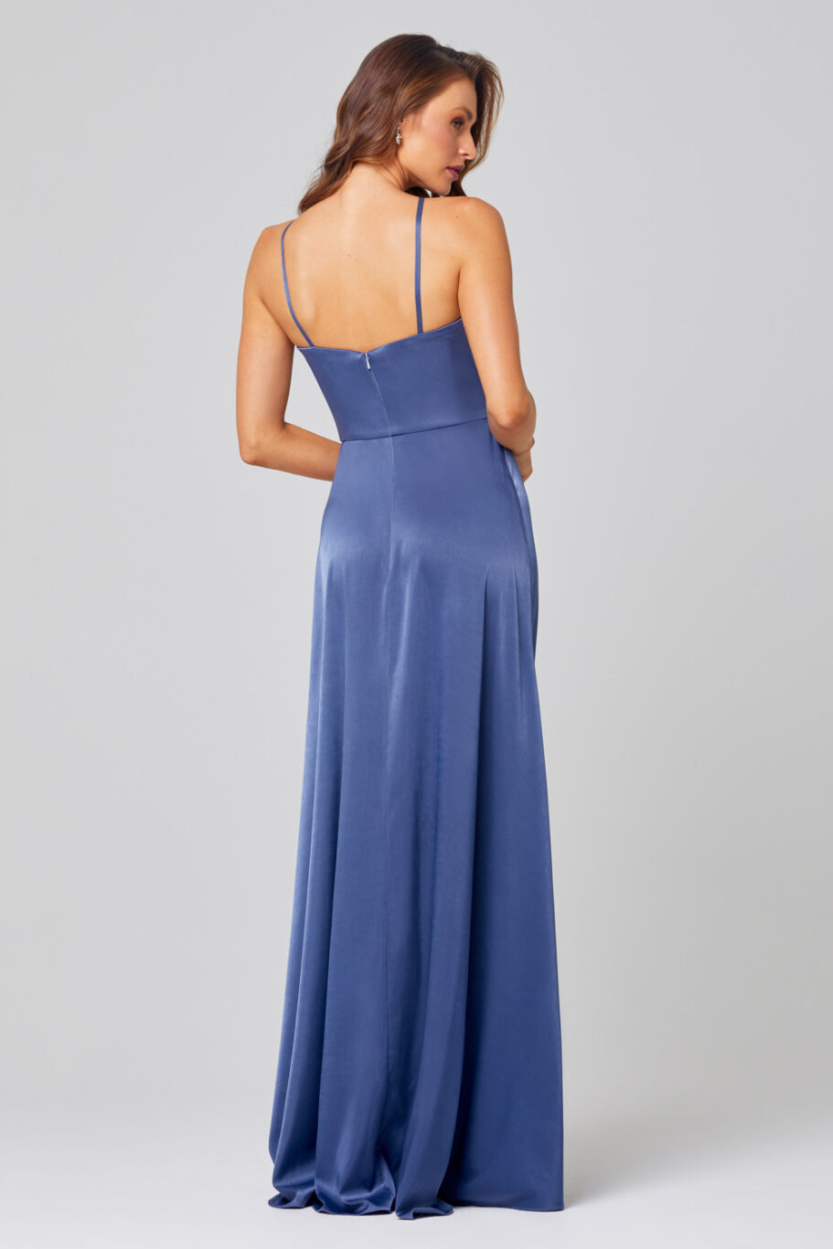 Chelsea High Neck Bridesmaid Dress - TO854 back