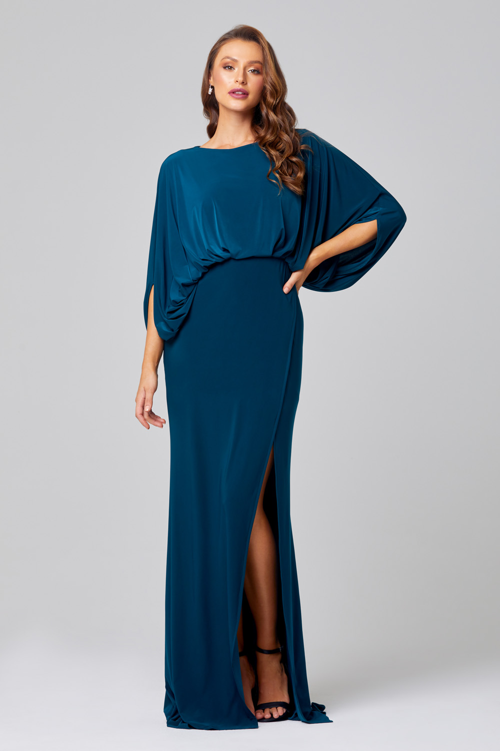 Cleo Cape Sleeve Bridesmaid Dress – TO845