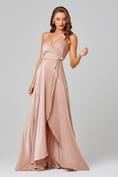 Jithya Self-Tie Bridesmaid Dress - TO853