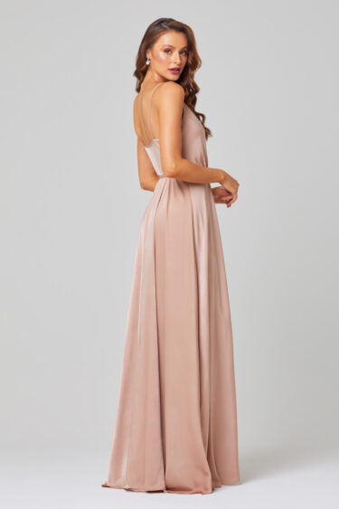Jithya Self-Tie Bridesmaid Dress - TO853 Back