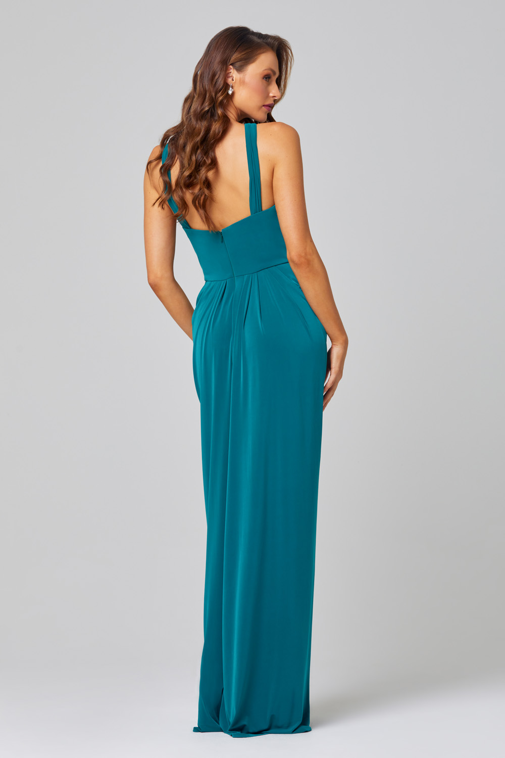 Suki Keyhole Bridesmaid Dress – TO848 back