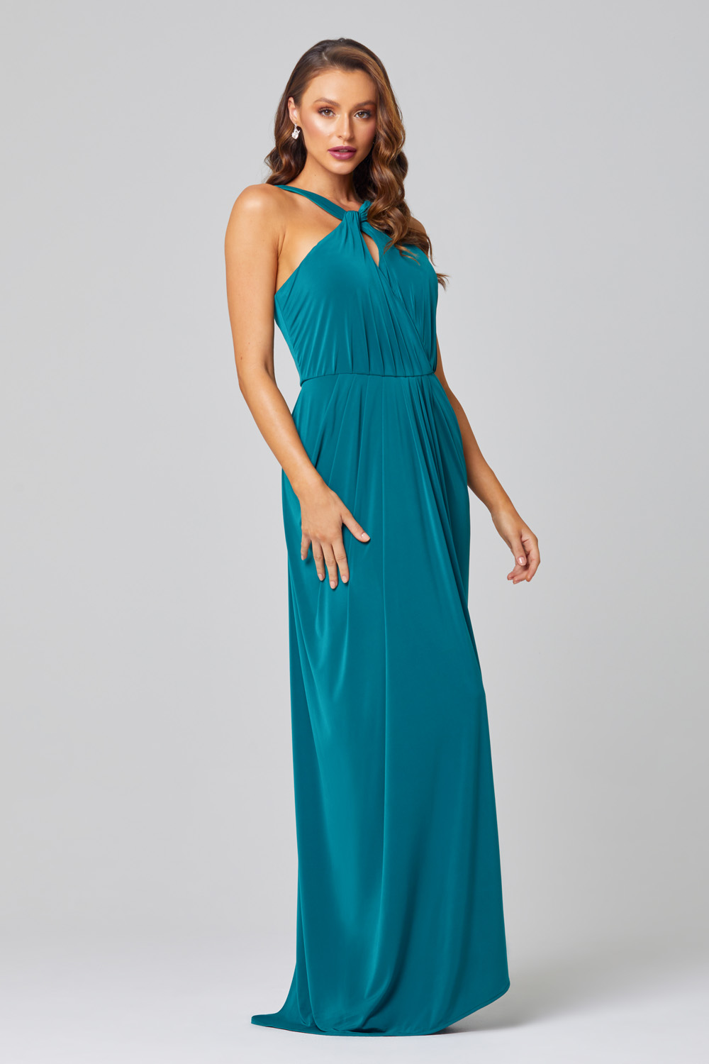 Suki Keyhole Bridesmaid Dress – TO848 side