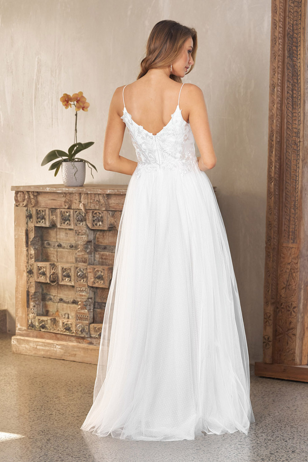Aubriel Wedding Dress TC235 BACK