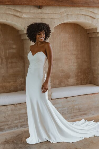 TC343-SEATTLE-vintage white bridal gown