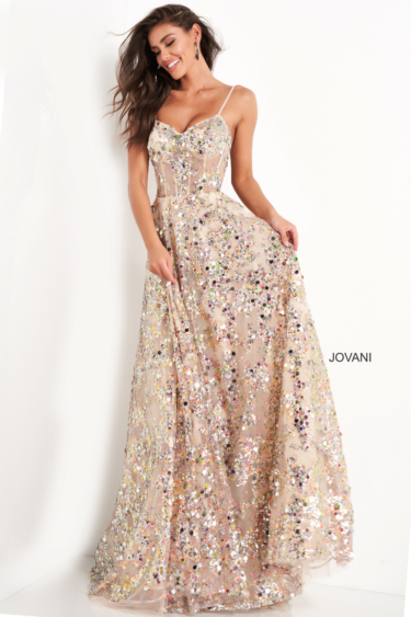 Jovani 04630 Gold side