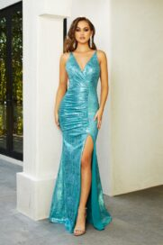PS21281 TURQUOISE Portia and scarlett front