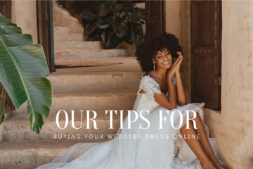 Buying your wedding dress online banner
